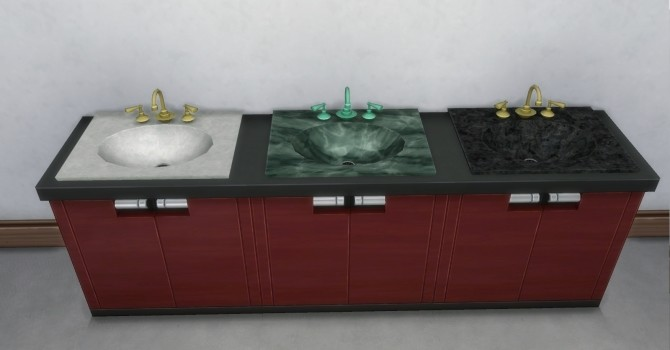 Sims 4 Daz Sinks by AdonisPluto at Mod The Sims
