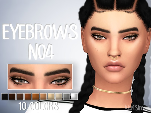 Eyebrows N04 by AhriSims at TSR image 615 Sims 4 Updates