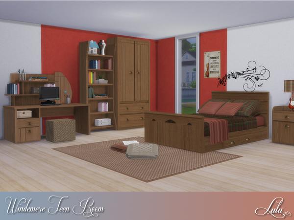 Windermere Teen Bedroom by Lulu265 at TSR image 616 Sims 4 Updates