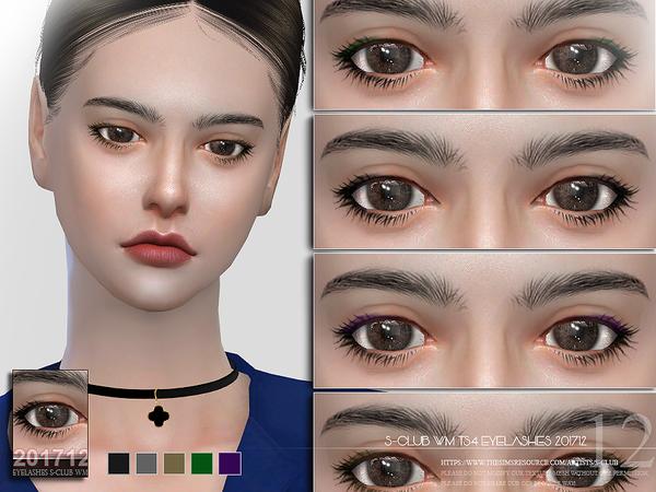 Eyelashes 201712 by S Club WM at TSR image 618 Sims 4 Updates