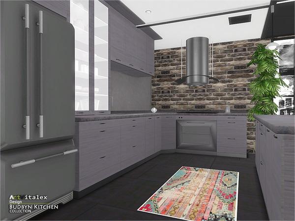 Budbyn Kitchen by ArtVitalex at TSR image 620 Sims 4 Updates