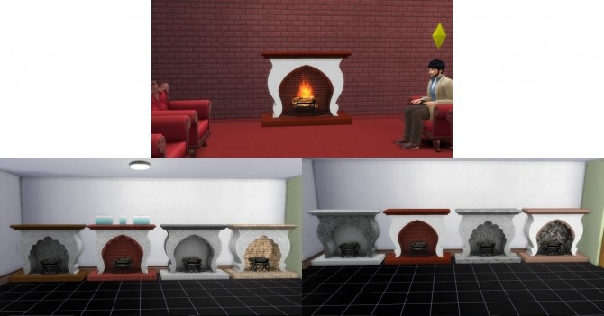 Fire Places 2 by AdonisPluto at Mod The Sims image 6215 670x351 Sims 4 Updates