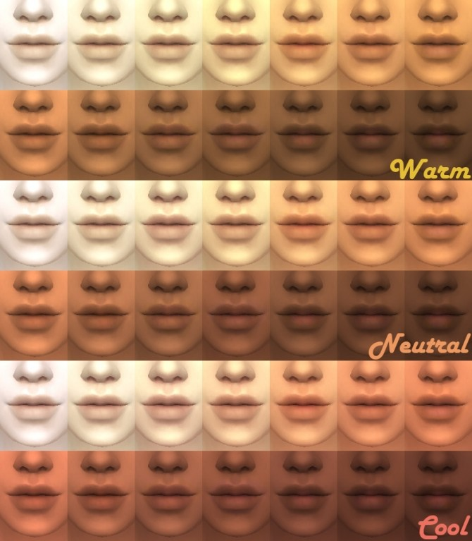 Maxis Match Skintones V2 By Kitty25939 At Mod The Sims