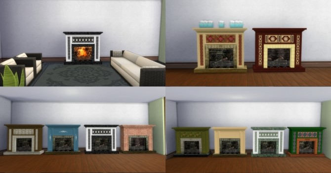 Fire Places 2 by AdonisPluto at Mod The Sims image 6312 670x351 Sims 4 Updates