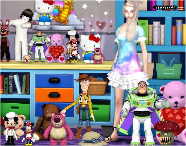 Sims 4 Set Vol 71 Decoratives (16 Items) at Jenni Sims