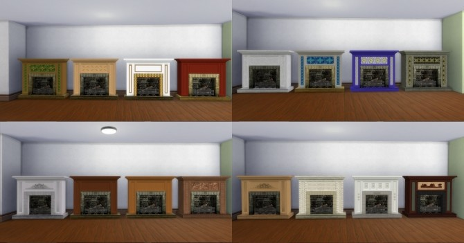 Fire Places 2 by AdonisPluto at Mod The Sims image 6412 670x351 Sims 4 Updates