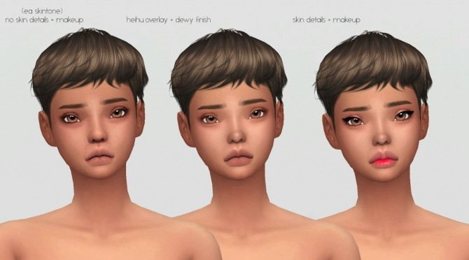 Hibiki Face Overlay by catsblob at SimsWorkshop image 644 670x372 Sims 4 Updates