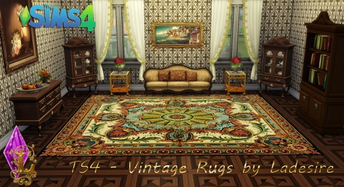 Vintage Rugs at Ladesire image 646 670x365 Sims 4 Updates