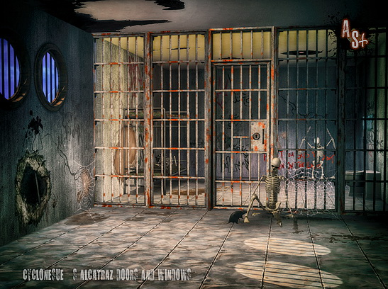 Cyclonesue Alcatraz Jail Door & Window at Abandoned Sims image 647 Sims 4 Updates