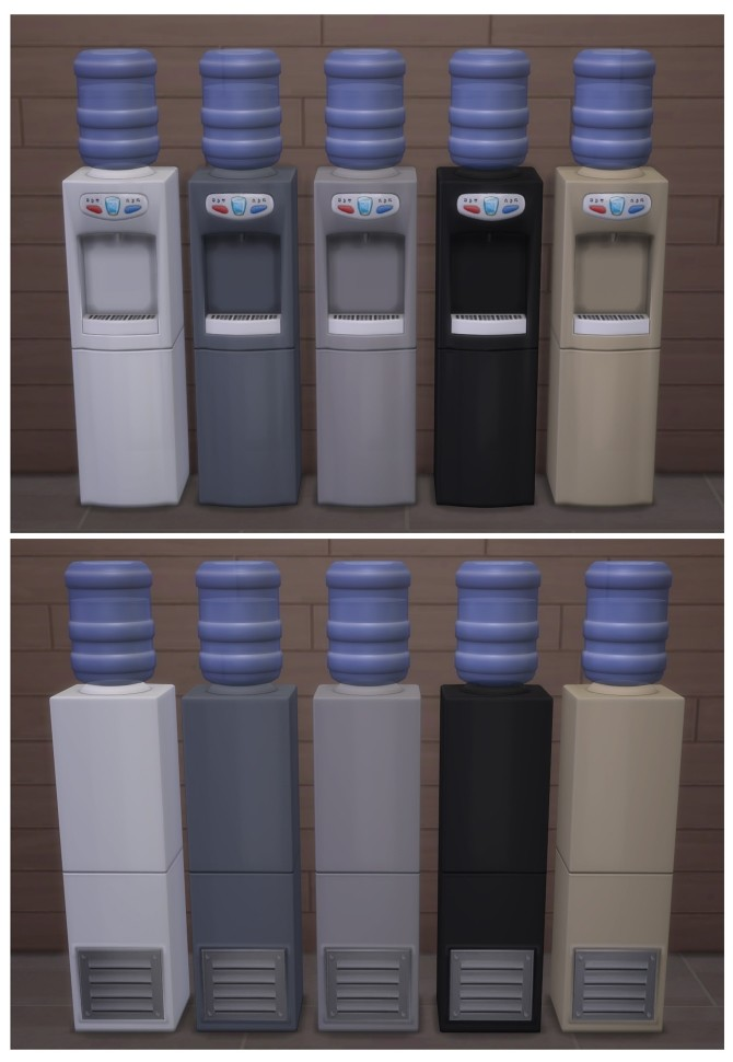 Functional Water Cooler by Menaceman44 at Mod The Sims image 6521 670x970 Sims 4 Updates