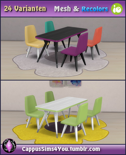 Set Harmonie at CappusSims4You image 658 Sims 4 Updates