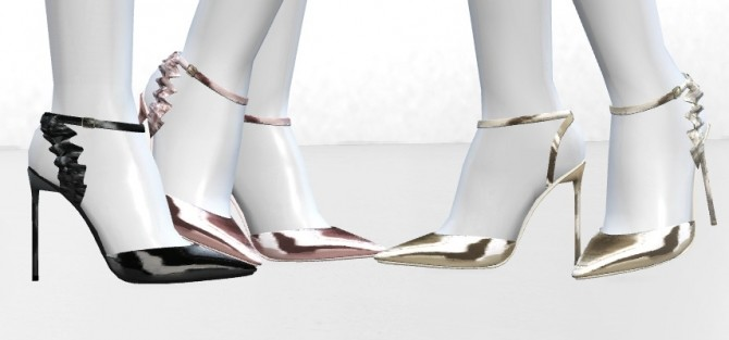 Sims 4 Eddie Slingbacks by MrAntonieddu at MA$ims4