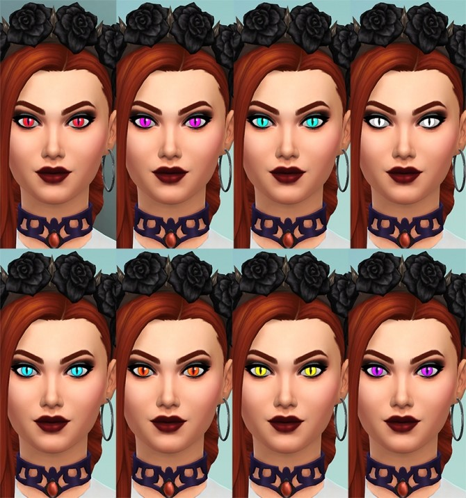 More Vampire Eye Colors by Merkaba at Mod The Sims image 6615 670x716 Sims 4 Updates