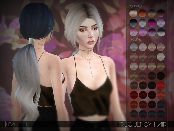 Frequency Hair by Leah Lillith at TSR » Sims 4 Updates