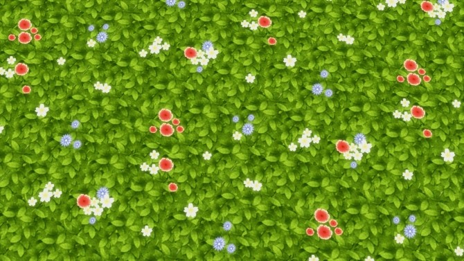 Fields of Wild Flowers by Snowhaze at Mod The Sims image 6714 670x377 Sims 4 Updates