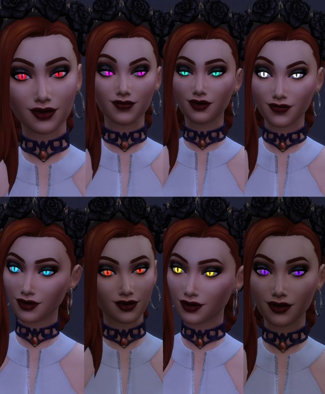 More Vampire Eye Colors by Merkaba at Mod The Sims image 6715 670x814 Sims 4 Updates