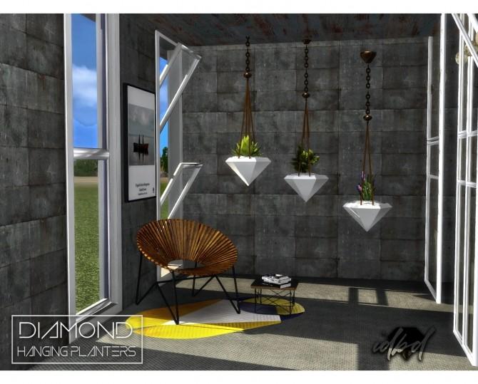 Diamond Hanging Planters at Daer0n – Sims 4 Designs image 677 670x539 Sims 4 Updates