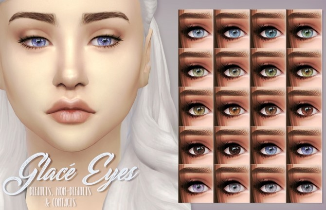 Glacé Eyes by kellyhb5 at TSR image 683 670x432 Sims 4 Updates