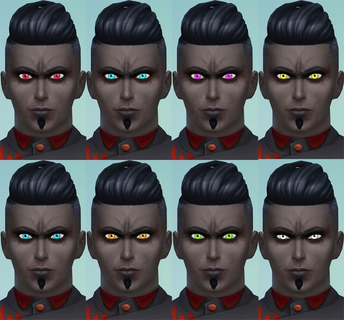 More Vampire Eye Colors by Merkaba at Mod The Sims image 6913 670x624 Sims 4 Updates