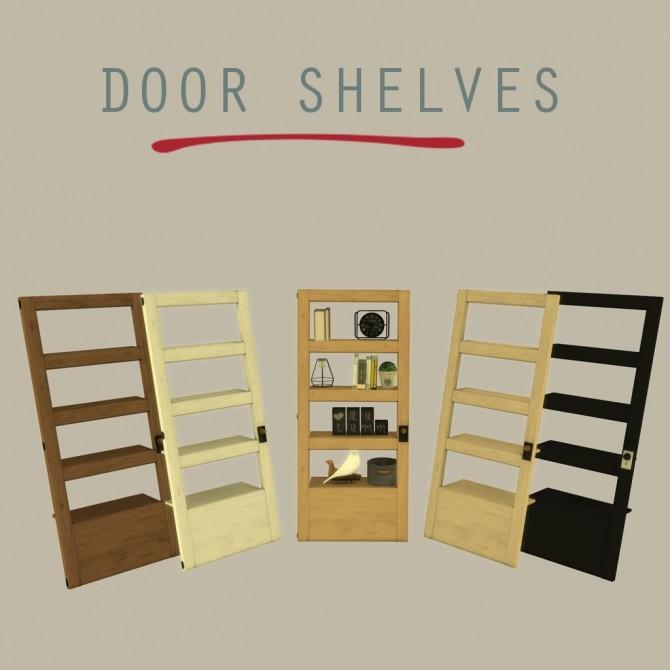 Door Shelf at Leo Sims image 696 670x670 Sims 4 Updates