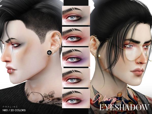 Sims 4 Warg Eyeshadow N60 by Pralinesims at TSR