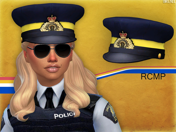 Royal Canadian Mounted Police uniform by Bruxel at TSR image 7018 Sims 4 Updates