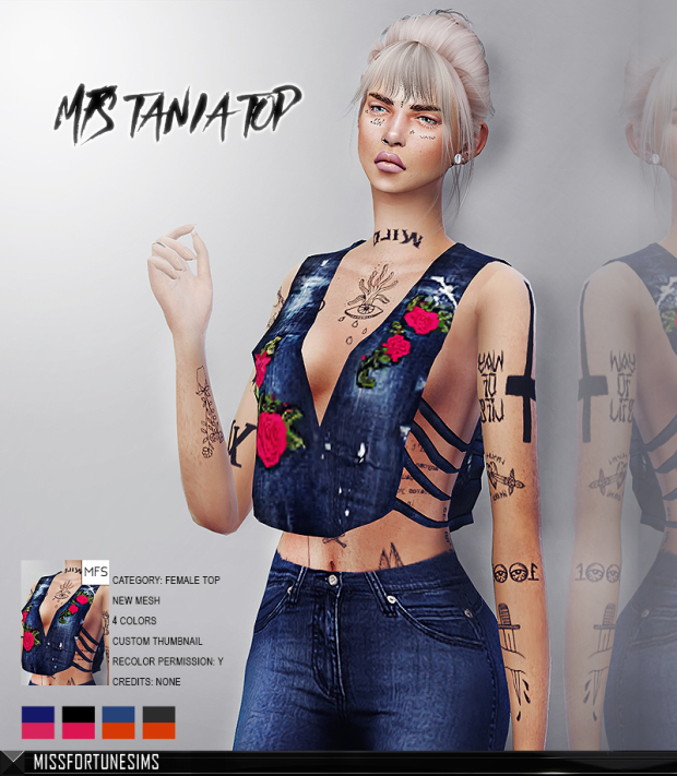 MFS Tania Top at Missfortune Sims image 707 Sims 4 Updates