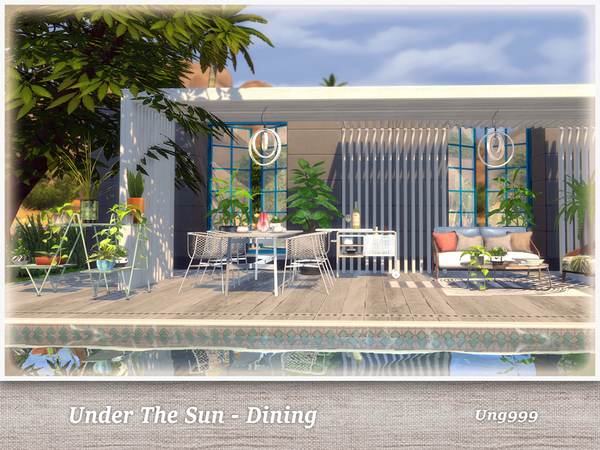 UNder The Sun Dining by ung999 at TSR image 7102 Sims 4 Updates