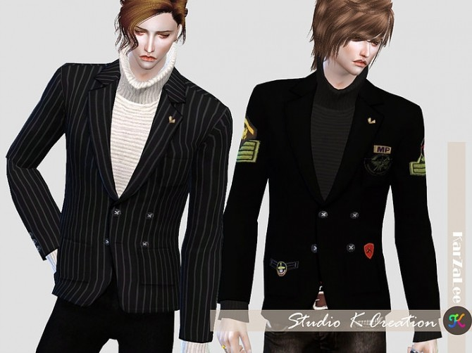 Giruto 30 Blazers Suit Jackets at Studio K Creation image 7110 670x502 Sims 4 Updates