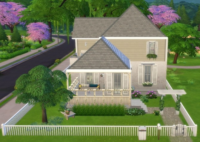Sims 4 8 Gardens Drive by Amondra at Mod The Sims