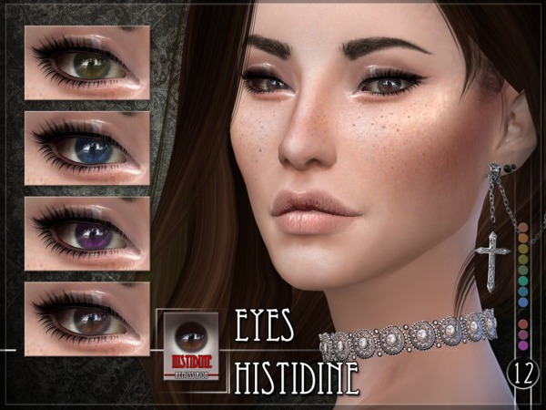 Sims 4 Histidine Eyes by RemusSirion at TSR