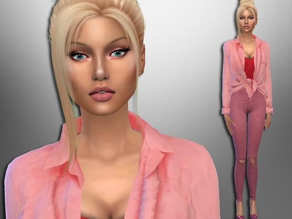 Sims 4 Amanda Benson by divaka45 at TSR