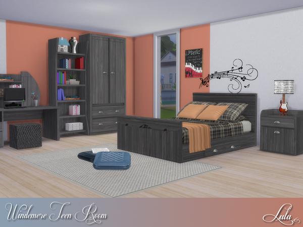 Windermere Teen Bedroom by Lulu265 at TSR image 715 Sims 4 Updates