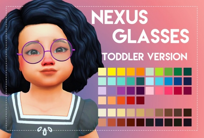 Nexus Glasses Toddler Version by Weepingsimmer at SimsWorkshop