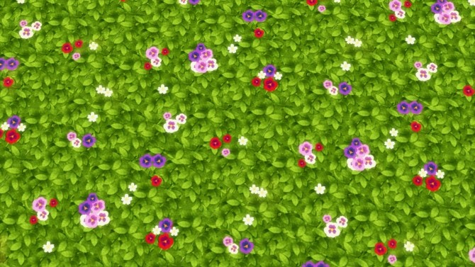 Fields of Wild Flowers by Snowhaze at Mod The Sims image 7314 670x377 Sims 4 Updates