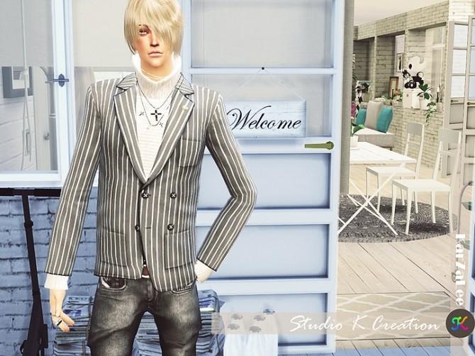 Giruto 30 Blazers Suit Jackets at Studio K Creation image 736 670x502 Sims 4 Updates