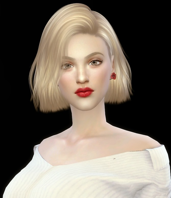 Rose Moore at Vicky SweetBunny image 7419 670x774 Sims 4 Updates