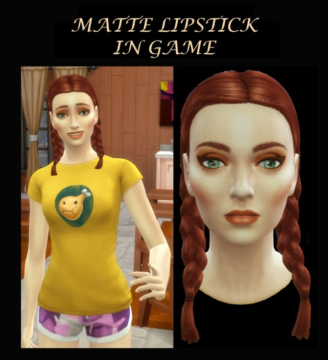 Matte Lipsticks Cool and Warm Shades by Simmiller at Mod The Sims image 7514 670x737 Sims 4 Updates