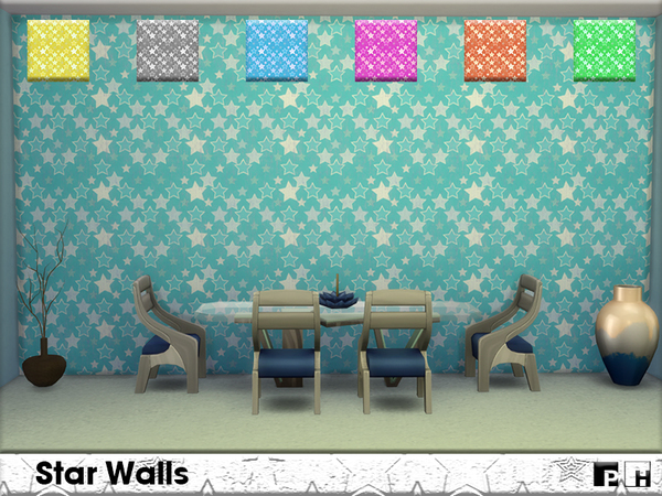 Star Walls by Pinkfizzzzz at TSR image 7517 Sims 4 Updates