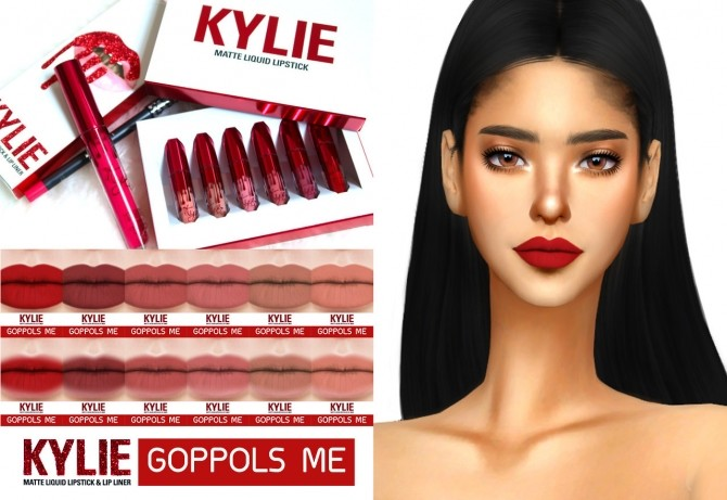 Valentines Lipstick Collection at GOPPOLS Me image 757 670x461 Sims 4 Updates