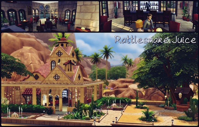 Rattlesnake Juice Bar at SkyFallSims Creation´s image 764 670x429 Sims 4 Updates