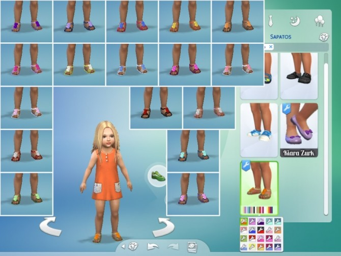 Flower Sandals at My Stuff image 766 670x502 Sims 4 Updates
