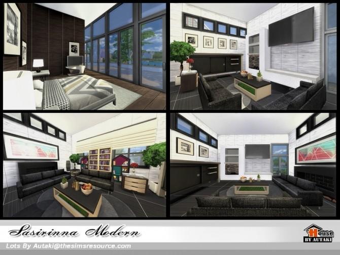 Sims 4 Sasirinna Modern by Autaki at TSR