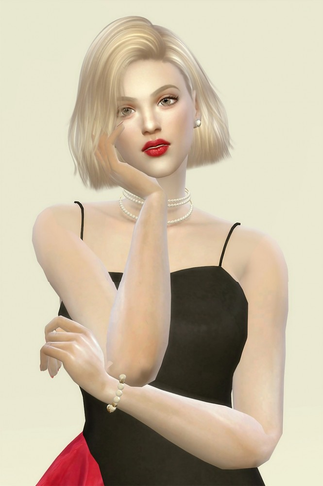 Rose Moore at Vicky SweetBunny image 7719 665x1000 Sims 4 Updates