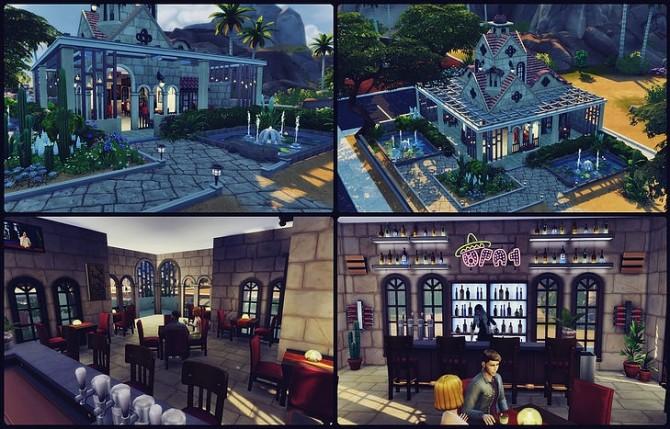 Rattlesnake Juice Bar at SkyFallSims Creation´s image 774 670x429 Sims 4 Updates