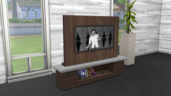 Artscreen TV from The Sims 3 conversion by Coolvamp at Mod The Sims image 783 670x377 Sims 4 Updates