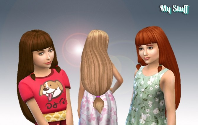 Lila Hair for Girls at My Stuff image 788 670x424 Sims 4 Updates