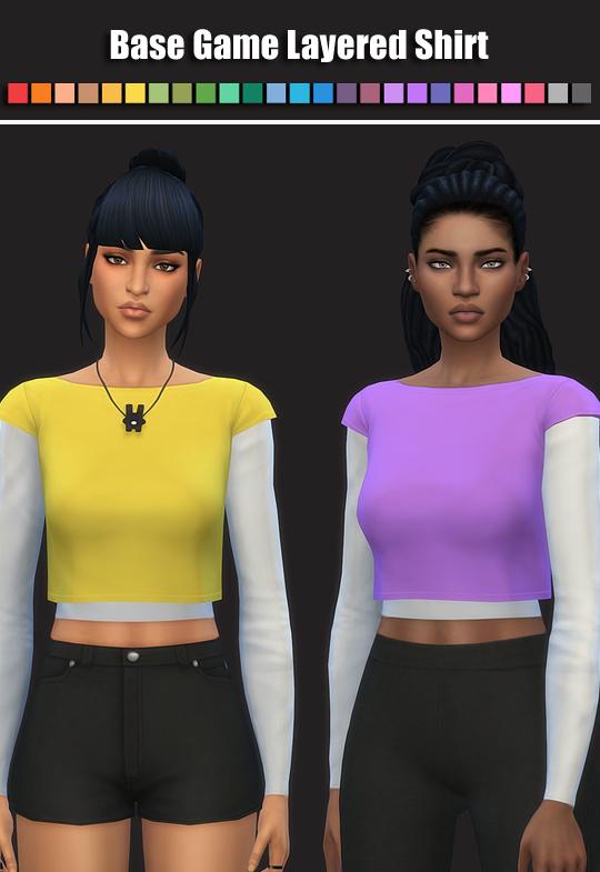 Layered Shirt at SimsWorkshop image 7914 Sims 4 Updates