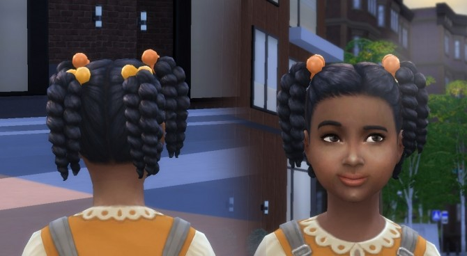 Sims 4 Twist Tails for Girls at My Stuff