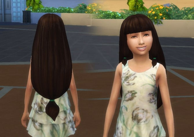 Lila Hair for Girls at My Stuff image 807 670x476 Sims 4 Updates